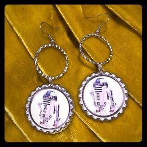 Jewelry - R2-D2 Dangle Earrings